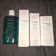 Avene Skincare products