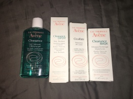 Avene Skincare products